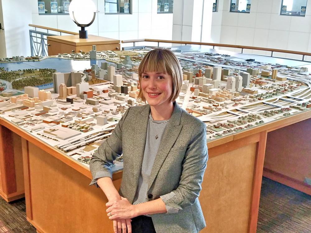 photo of Alexa Jeffress, the new Director of the Economic & Workforce Development Department